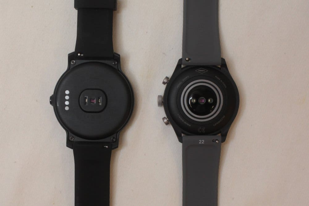 ticwatch e2 fossil sport heart rate monitor