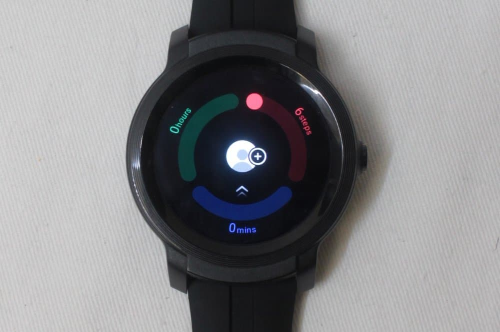 ticwatch e2 activity tracker