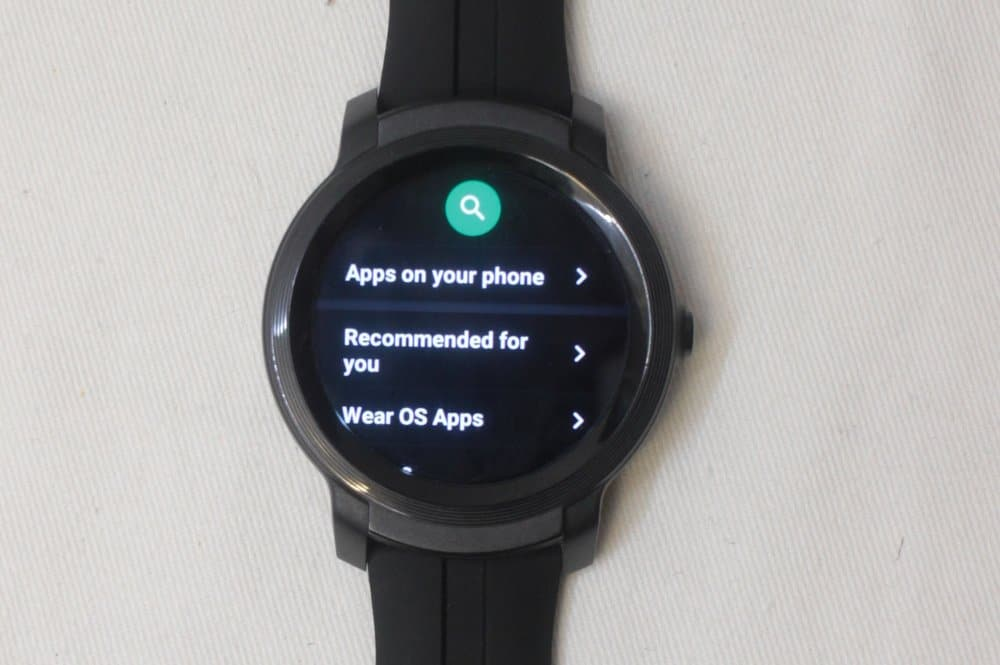 ticwatch e2 google play app store