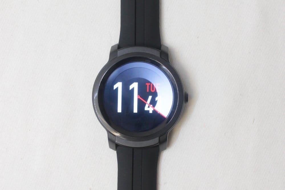 ticwatch e2 main menu