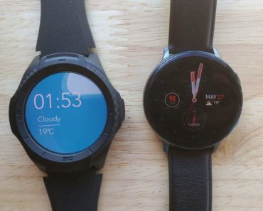 Ticwatch S2 vs Samsung Galaxy Watch Active 2 main screen