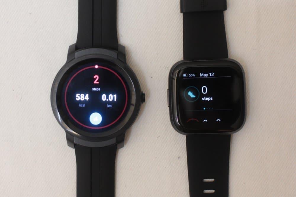 C:\Users\Mr.Zeng\Desktop\export\Ticwatch E2 vs Fitbit Versa 2 step count