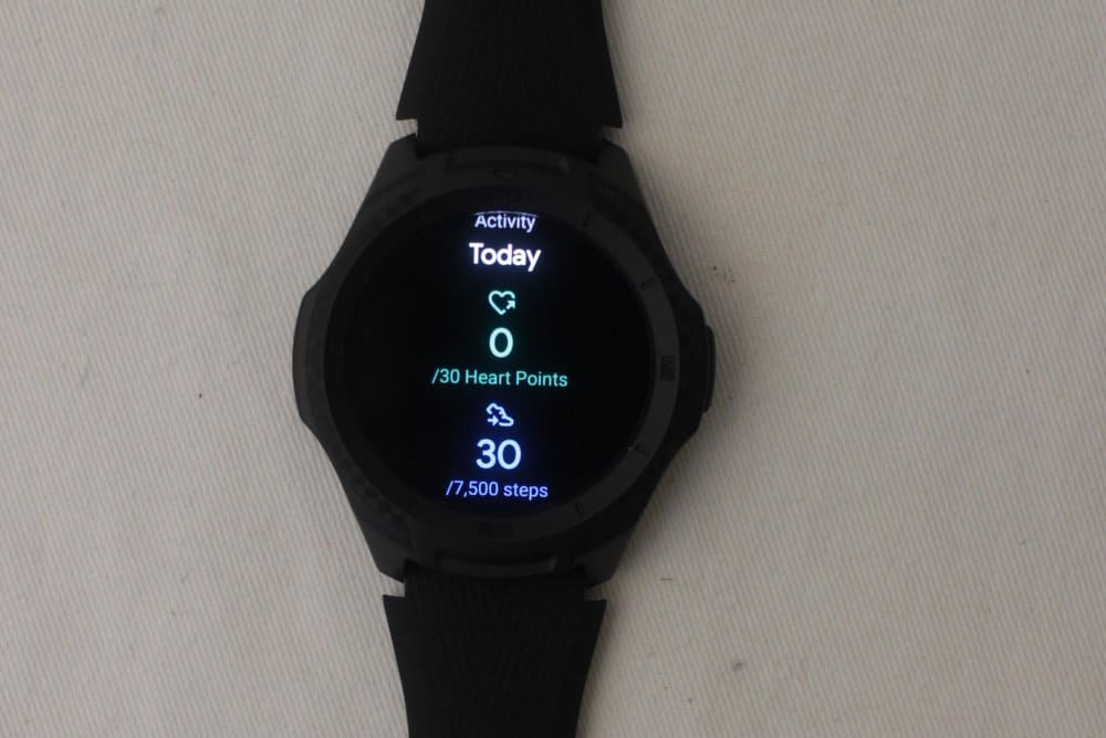 ticwatch e2 google fit