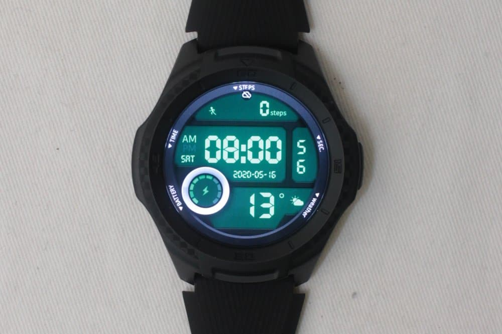 ticwatch e2 watch face