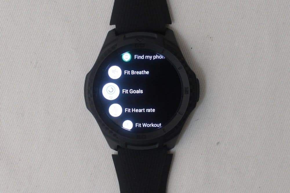 ticwatch e2 apps