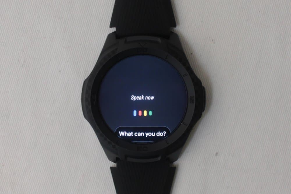 ticwatch e2 google assistant