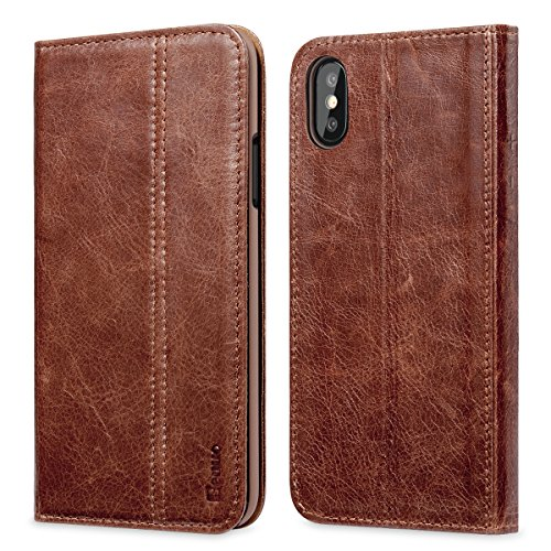 Genuine Leather Case [Ultra Soft] - Apple iPhone X 2017