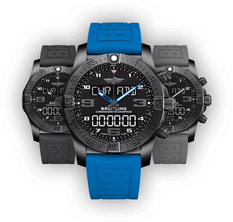 The Breitling Exospace B55 Connected wristwatch.