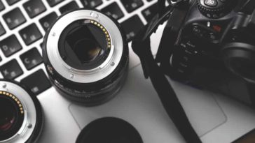 Camera, lenses and other photography equipments.