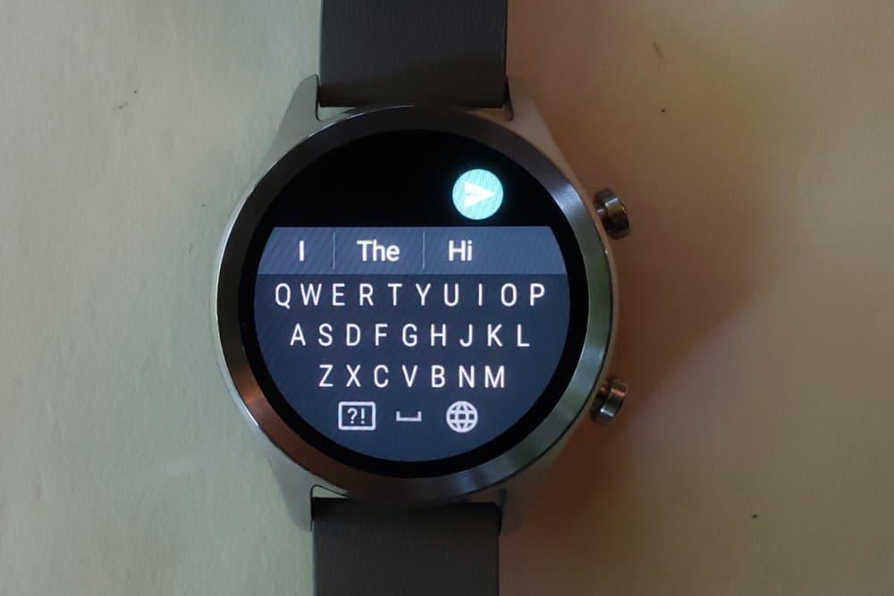 ticwatch c2 keyboard