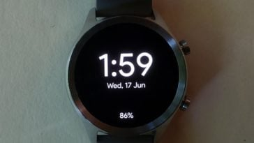 ticwatch c2 main screen