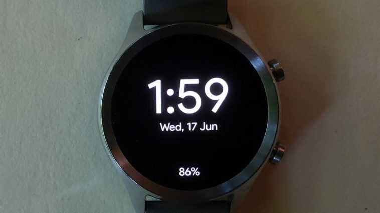 ticwatch c2 main screen