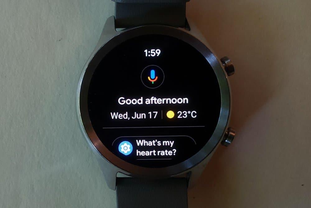 ticwatch c2 google assistant