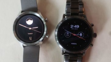 ticwatch c2 vs fossil gen 5 carlyle watch faces