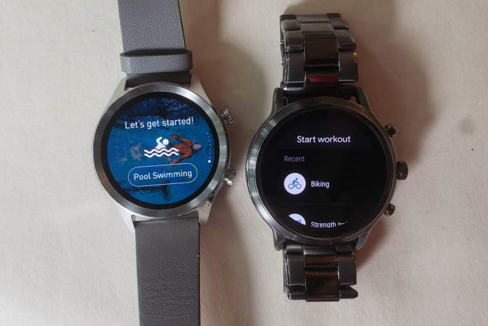 ticwatch c2 vs fossil gen 5 carlyle sports