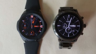 ticwatch s2 vs fossil gen 5 carlyle watch faces