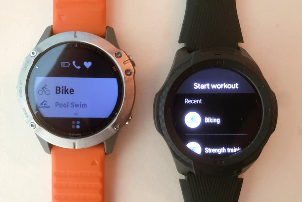 ticwatch s2 vs garmin fenix 6 sports