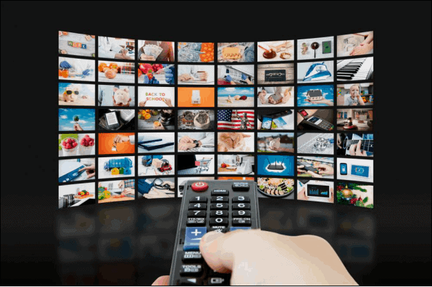 Video Streaming Wall Television