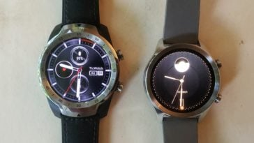 Ticwatch C2 vs Ticwatch Pro main screen