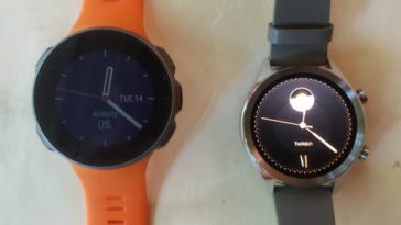 ticwatch c2 vs polar vantage v watch faces