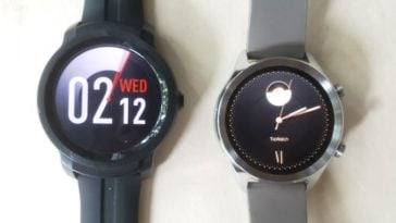 Ticwatch C2 vs Ticwatch E2 watch faces