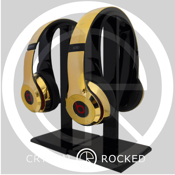 Beats by Dr. Dre Solo 3 wireless 24ct gold plated headphones