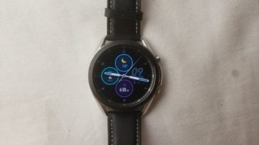 Samsung Galaxy Watch3 main screen