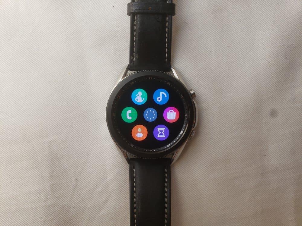 Samsung Galaxy Watch3 apps