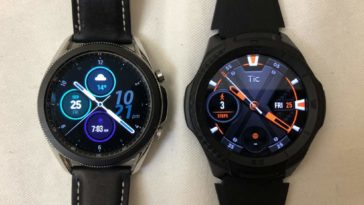 Samsung Galaxy Watch3 vs Ticwatch S2 main screen