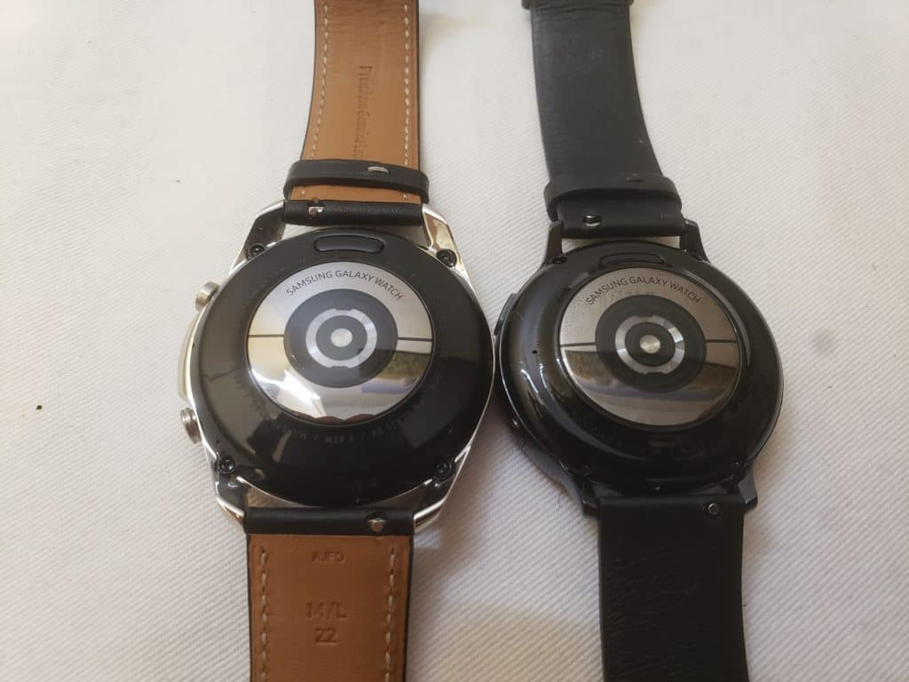 Samsung Galaxy Watch3 vs Active2 heart rate monitor