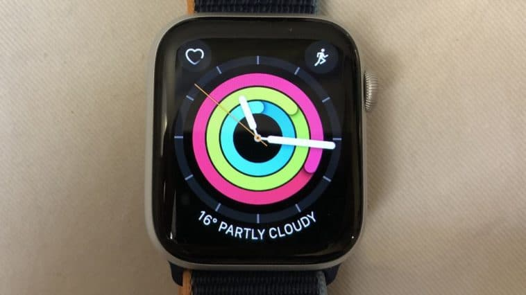 Apple Watch Series 6 main screen