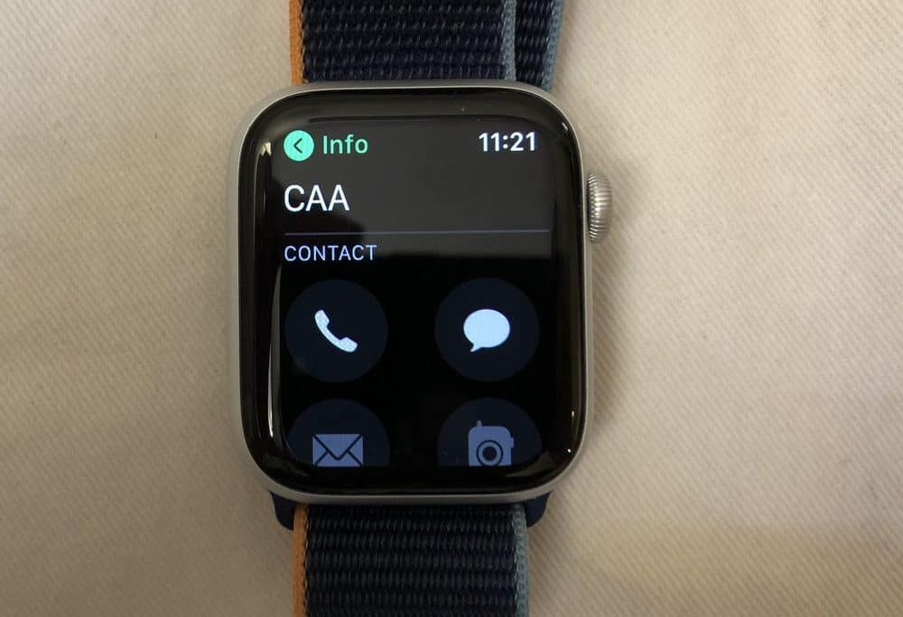 Apple Watch Series 6 calls