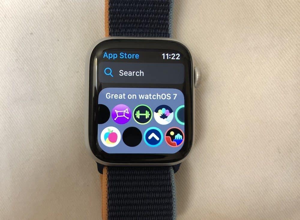Apple Watch Series 6 apps