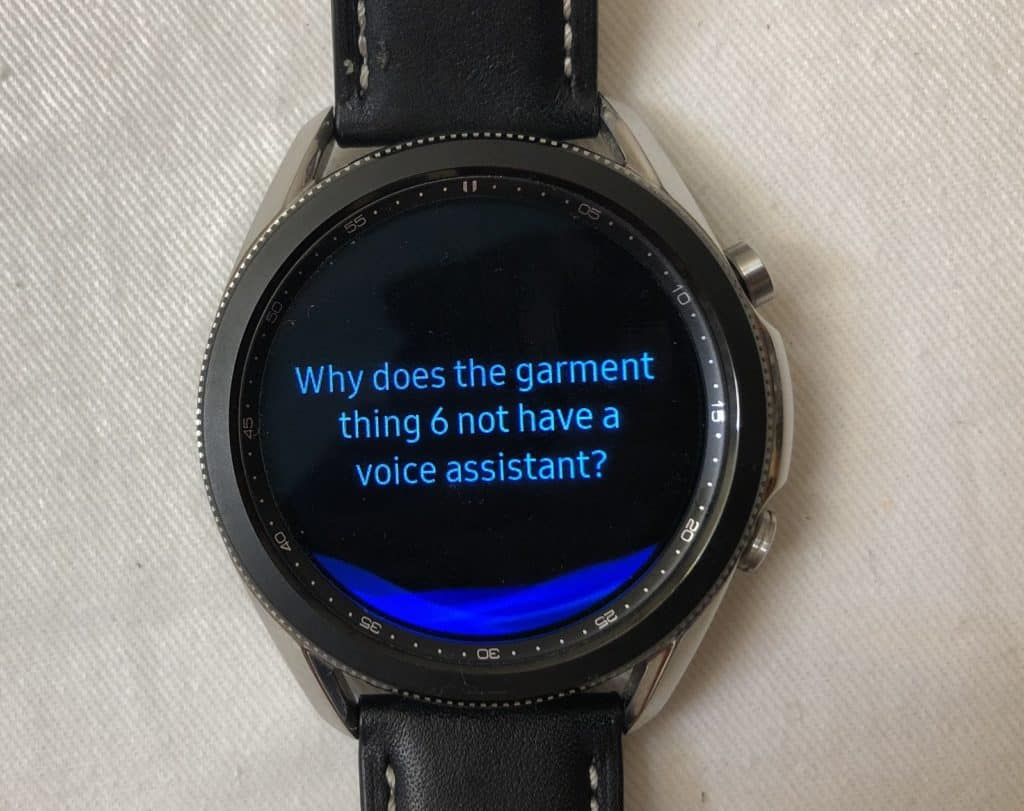 Samsung Galaxy Watch3 vs Garmin Fenix 6 voice assistant
