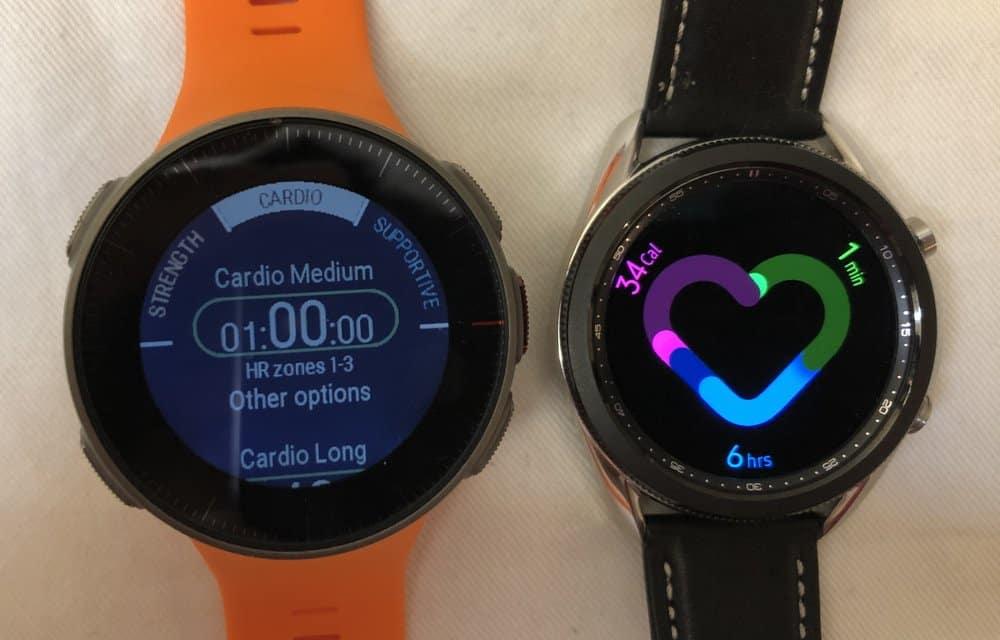 Samsung Galaxy Watch3 vs Polar Vantage V exercise motivation