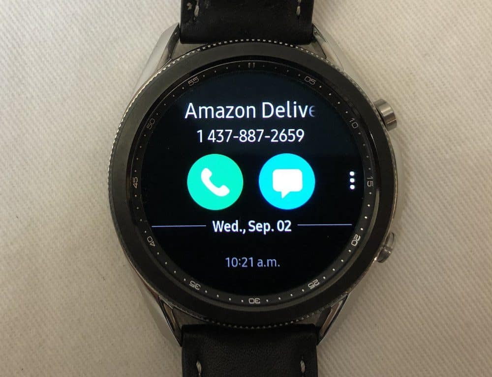 samsung galaxy watch3 vs ticwatch c2 phone calls